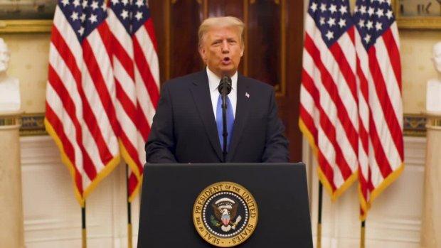 Trump's Abschiedsrede vom 19.01.2020 auf deutsch