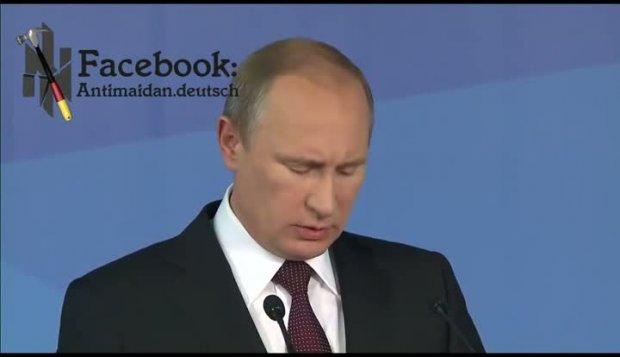 Putin ohne Maulkorb