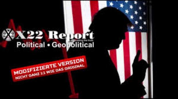 X-22 Report vom 17.1.2021 - Optik & Timing sind extrem wichtig - Der Aufstand ist real, die Nachrichten sind gefälscht
