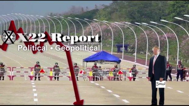 X22 Report vom 1.2.2021 - Panik in DC - Wahlbetrug Projektion - Es ist Zeit, in die Öffentlichkeit zurückzukehren