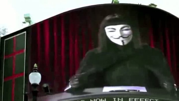 Anonymous - Viva la Revolution You are the 99 - Wake up