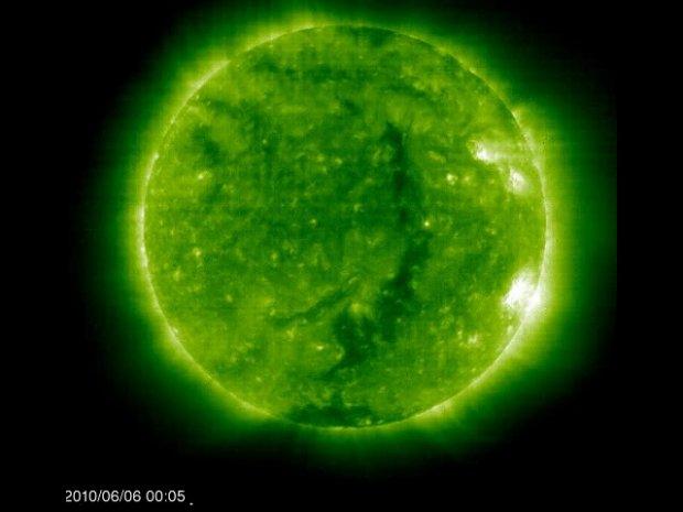 SOHO Aufnahme 06.08.10 - 08.06.10