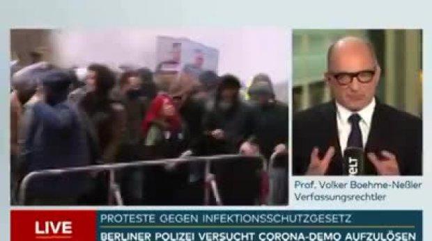 """Verfassungsrechtler bestätigt: """" Die Regierung kann jetzt machen was sie will!"""""""