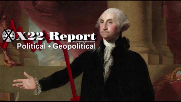 X22 Report vom 26.1.2021 - Die Entscheidung über den Zeitplan wurde Trump überlassen